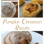 Pumpkin Cinnamon Biscuits with Browned Butter Frosting   5DollarDinners.com