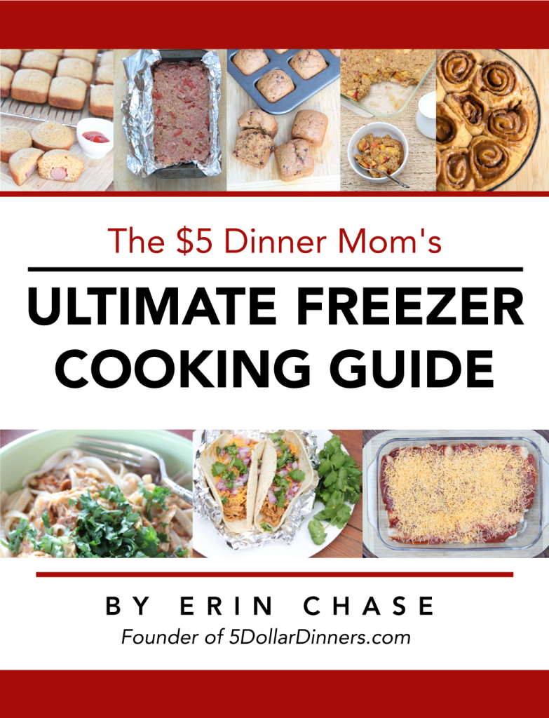 Ultimate Freezer Cooking Guide | 5DollarDinners.com