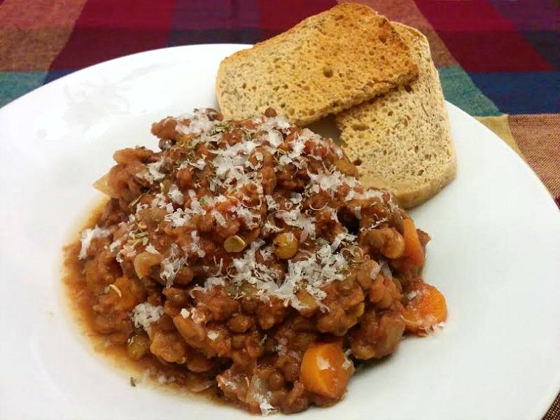 italian herb lentil recipe