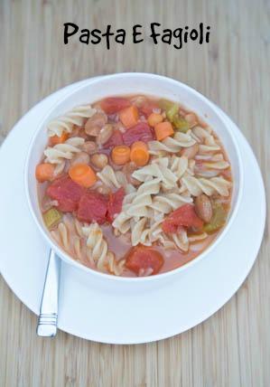 Pasta E Fagioli Soup Recipe