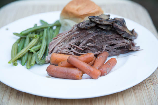 Slow Cooker Beef Roast with Mushrooms Recipe