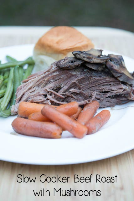 Slow Cooker Beef Roast with Mushrooms