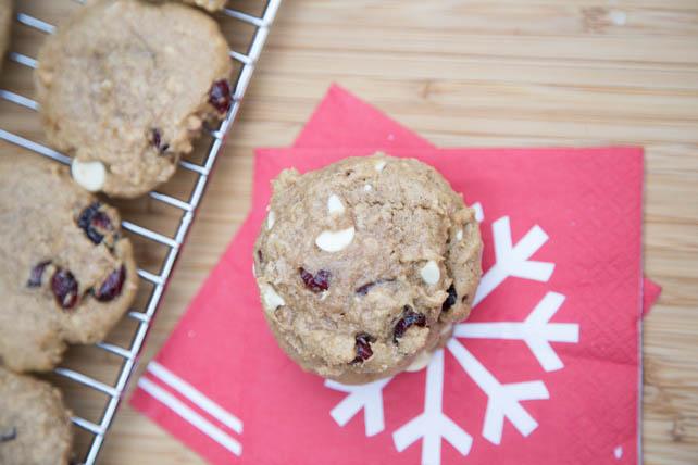 White Chocolate Cranberry Oatmeal Cookies Recipe