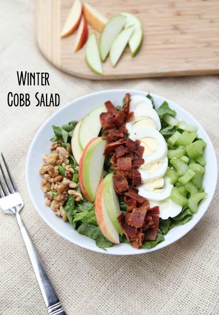 Winter Cobb Salad Recipe on 5DollarDinners.com