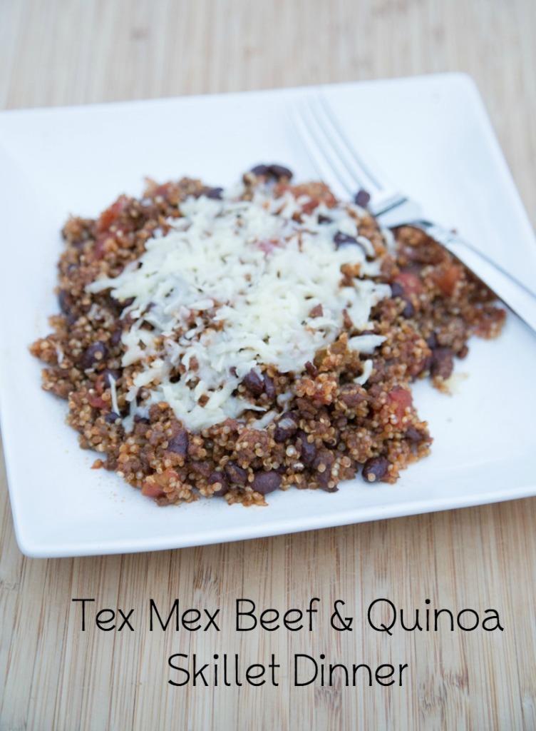 Beef & Quinoa Skillet Dinner