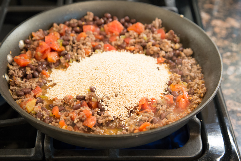 Beef Quinoa Skillet Recipe-3