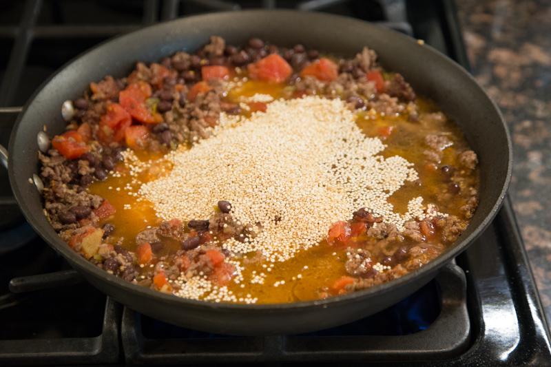 Beef Quinoa Skillet Recipe-4