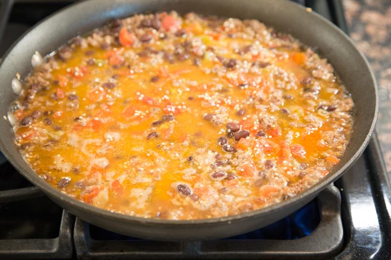 Beef Quinoa Skillet Recipe-5