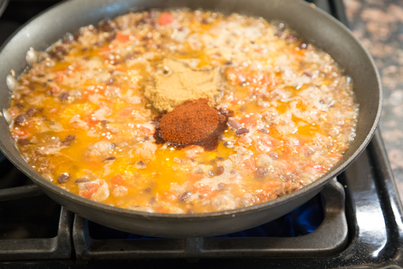 Beef Quinoa Skillet Recipe-7