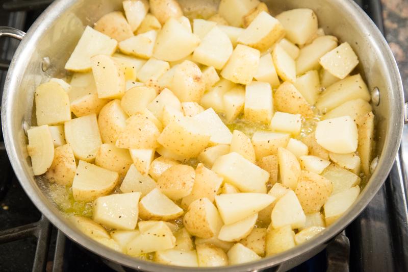 Sausage Potato Skillet Dinner