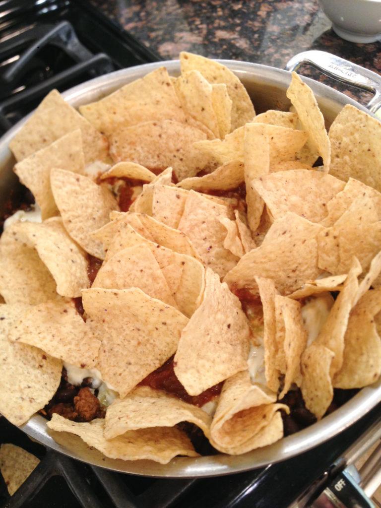 Skillet Nachos Recipe-6