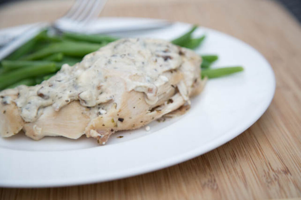 Slow Cooker Creamy Ranch Chicken Recipe