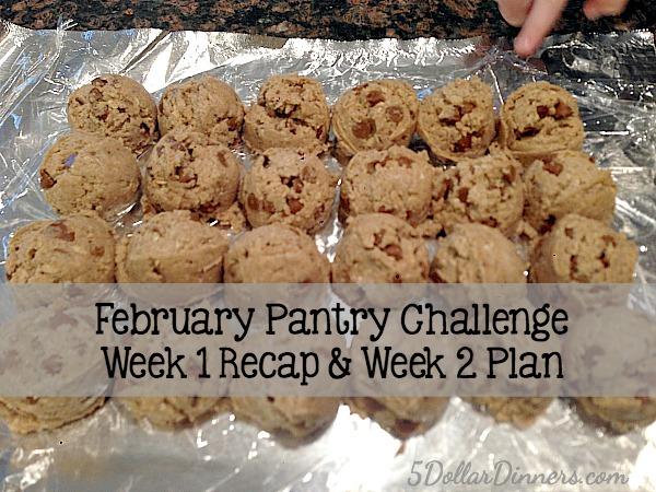 Feb Pantry Challenge Week 1