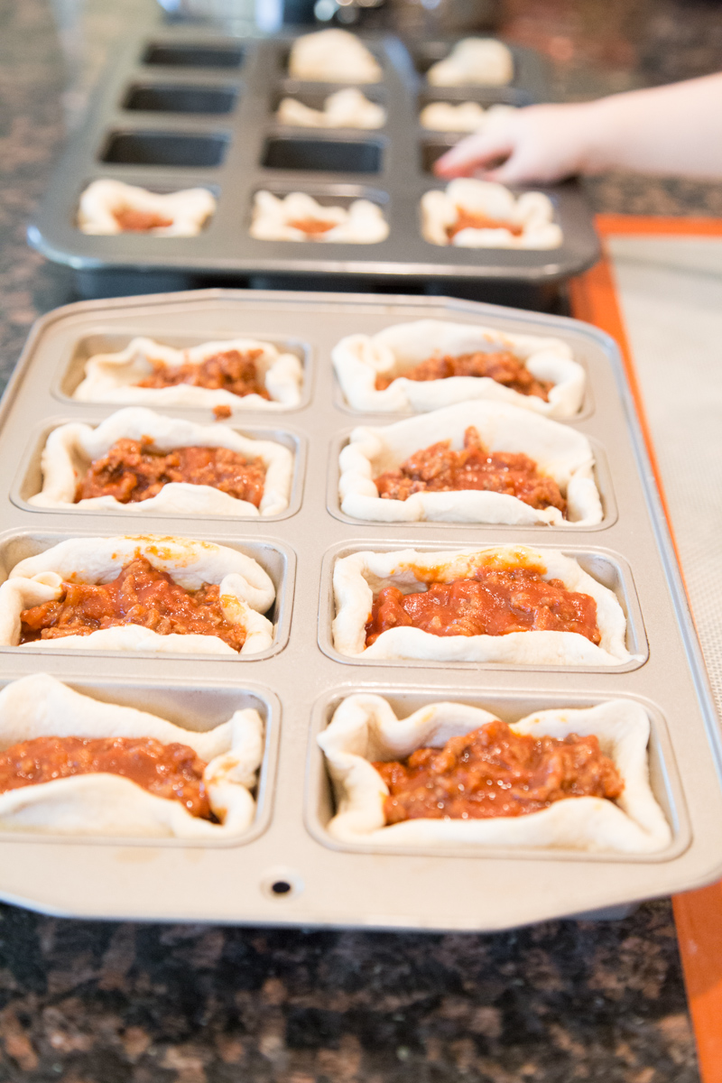 Sloppy Joe Muffins Pre-Bake