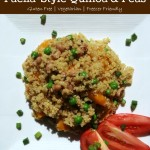 Slow Cooker Paella-Style Quinoa and Peas | 5DollarDinners.com