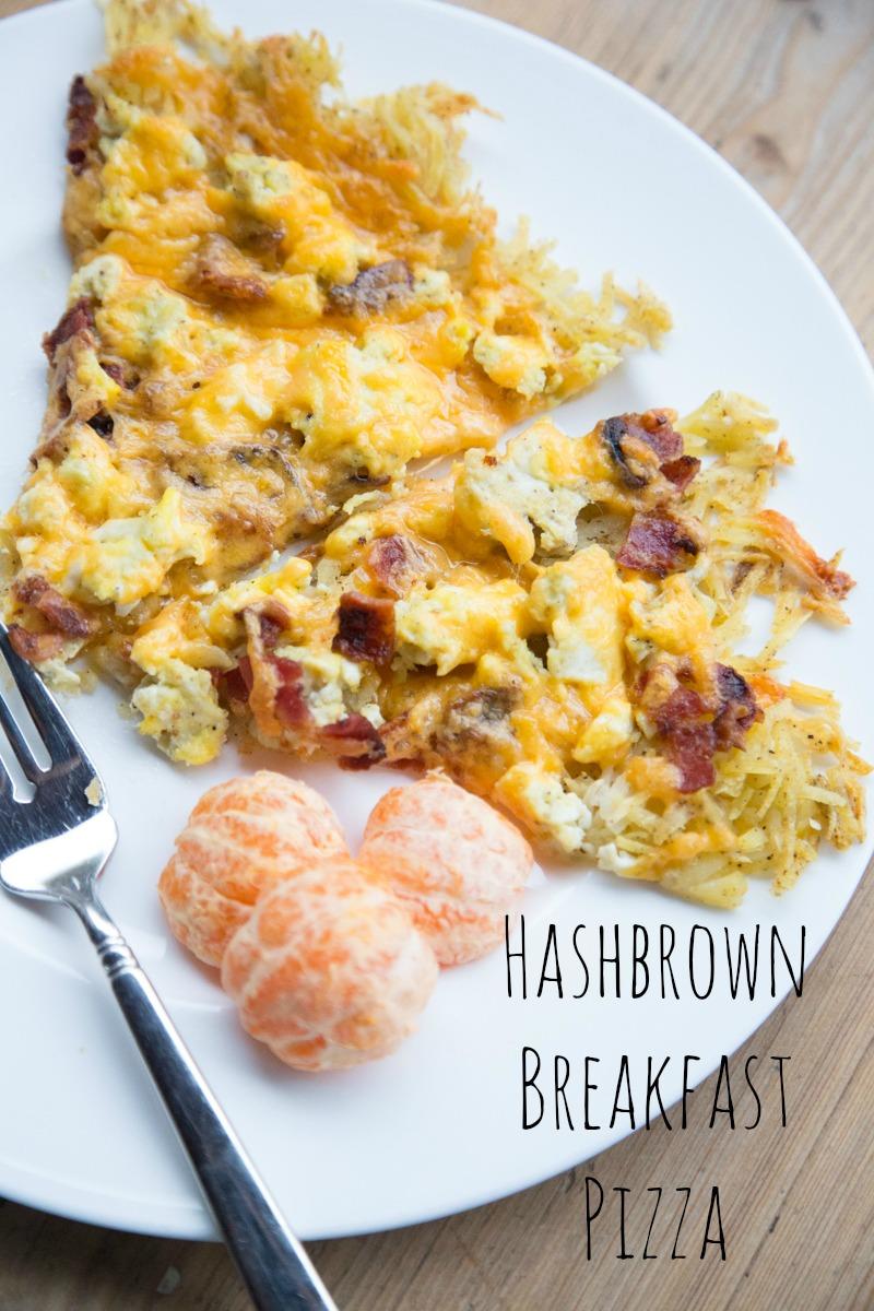 Hashbrown Breakfast Pizza Recipe | 5DollarDinners.com