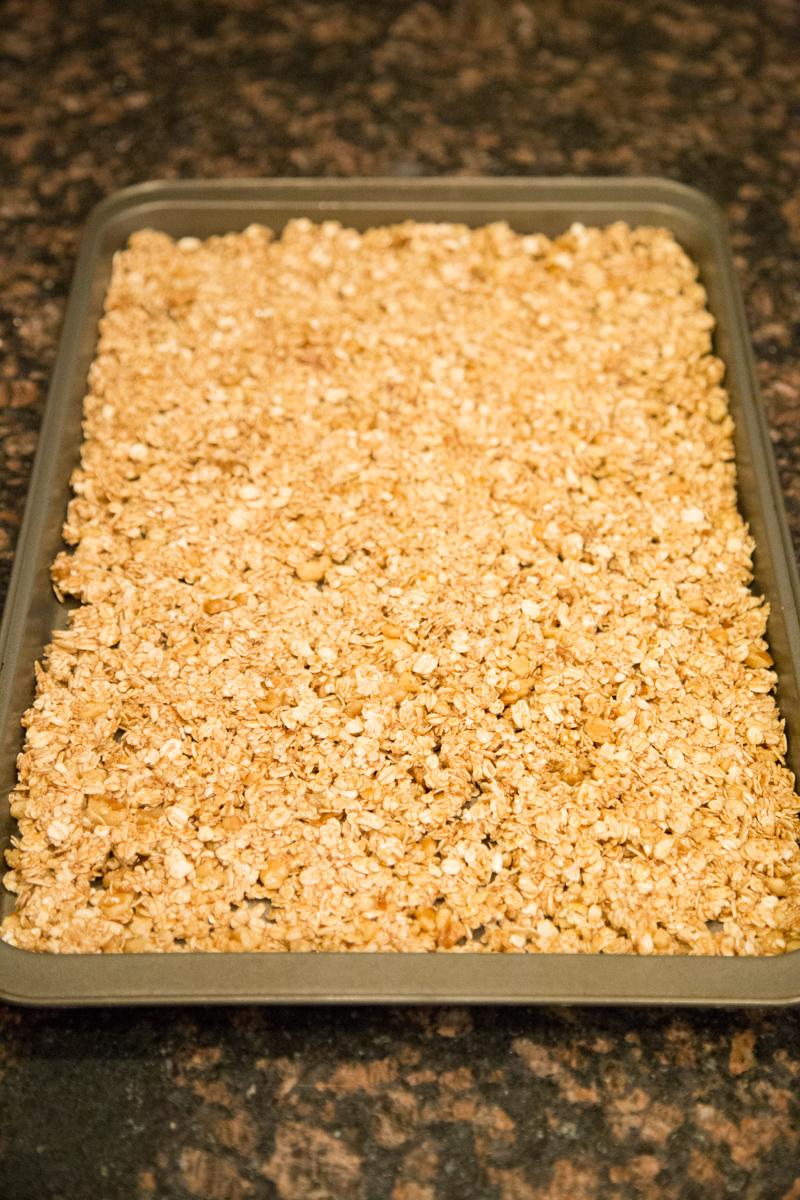 Overnight Granola Pre-bake