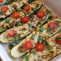 Zucchini Breakfast Boats | 5DollarDinners.com