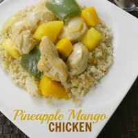 Pineapple Mango Chicken from 5DollarDinners.com
