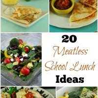 20 Meatless School Lunch Ideas