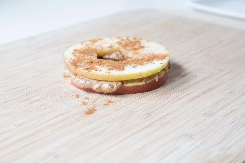 Apple Almond Butter Sandwich