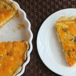 Gluten Free Sausage, Cheese and Hashbrown Quiche from 5DollarDinners.com