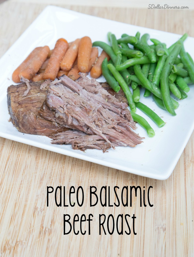 Paleo Balsamic Beef Roast Recipe