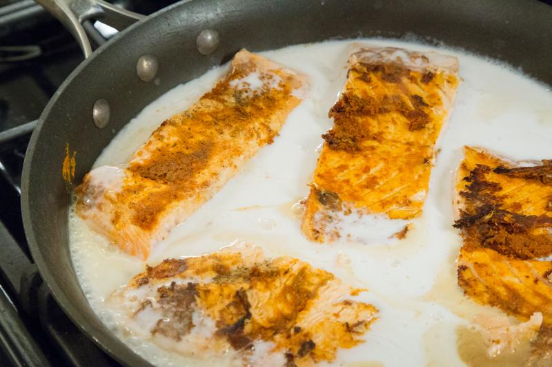 Paleo Curried Salmon 2