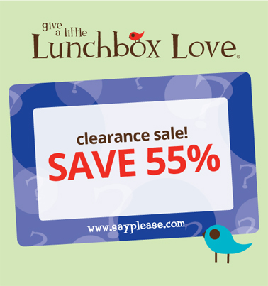 55% off all Lunchbox Love