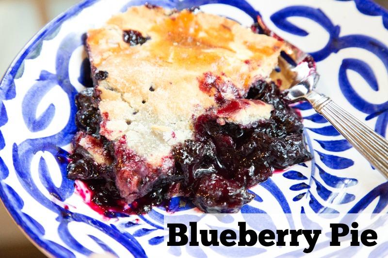 Blueberry Pie Recipe | 5DollarDinners.com