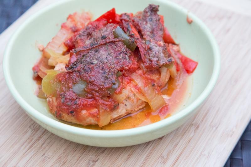 Slow Cooker Chicken Cacciatore Recipe-4