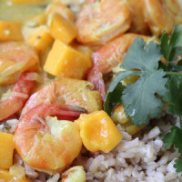 Shrimp Mango Curry | 5DollarDinners.com