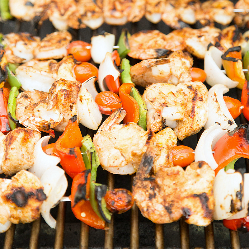 Jambalaya-Kebabs SQ