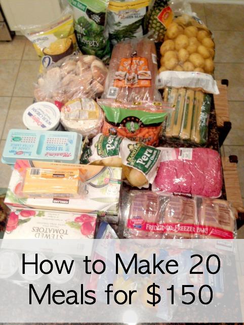 Meal Plan 1 Ingredients