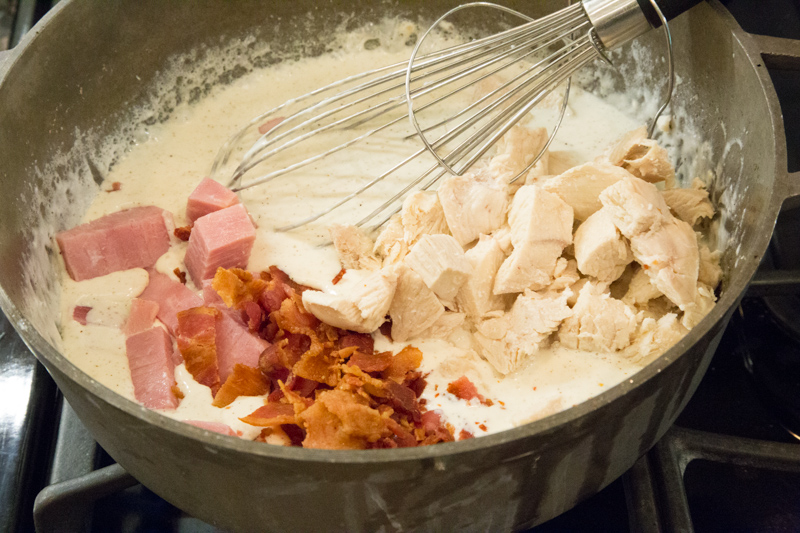 Chicken Cordon Bleu Pasta-2