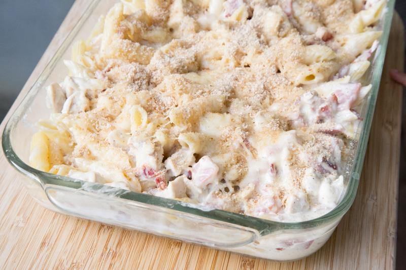 Chicken Cordon Bleu Pasta Recipe-4