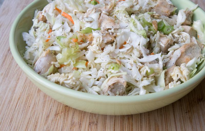 Chilled Ramen Salad Recipe