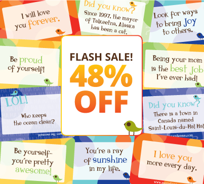 Lunchbox Love Notes Flash Sale