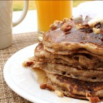 Multi-Grain and Nut Pancakes from 5DollarDinners.com