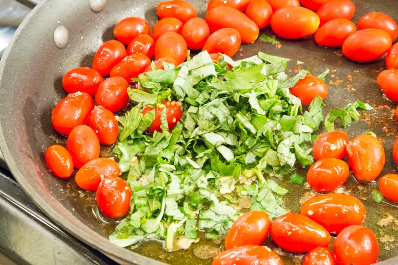 Tomato Basil Chicken & Linguini-2