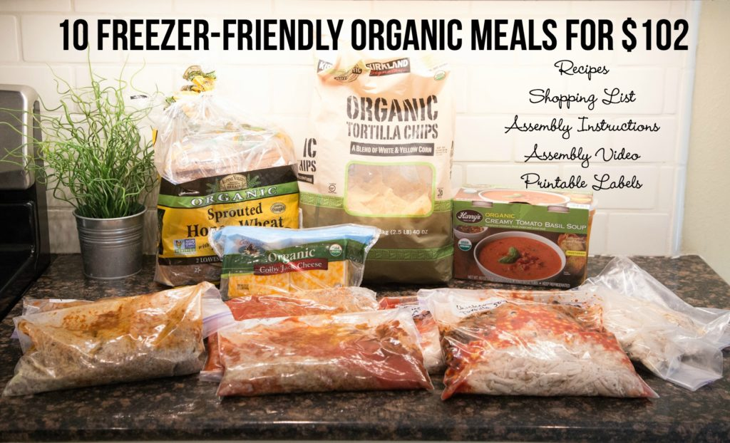 10 Organic Meals Plan from $5 Dinners