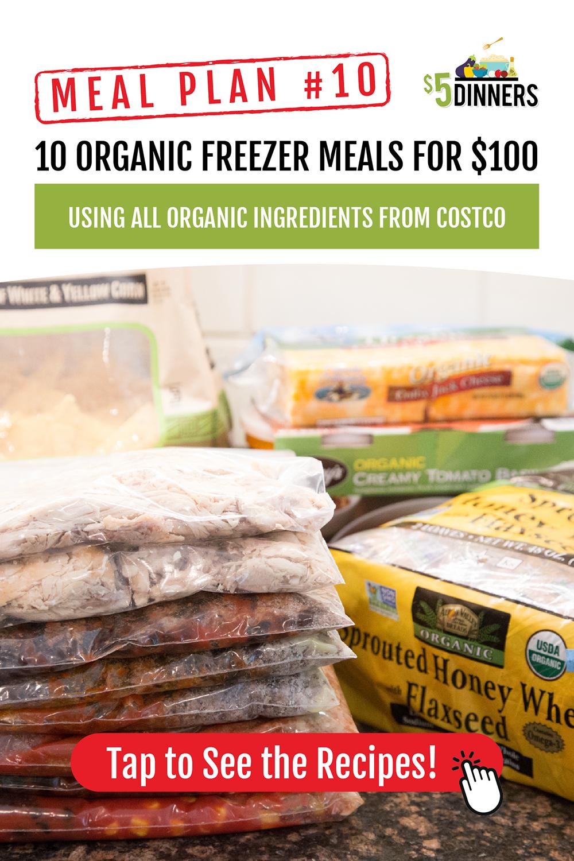 Organics Meal Plan