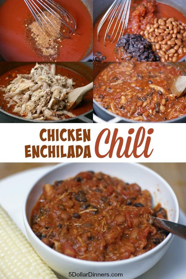 Chicken Enchilada Chili ~ 31 Days of Chili, Soups & Stews