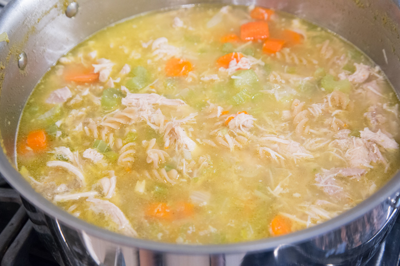 Homemade Chicken Noodle Soup-5