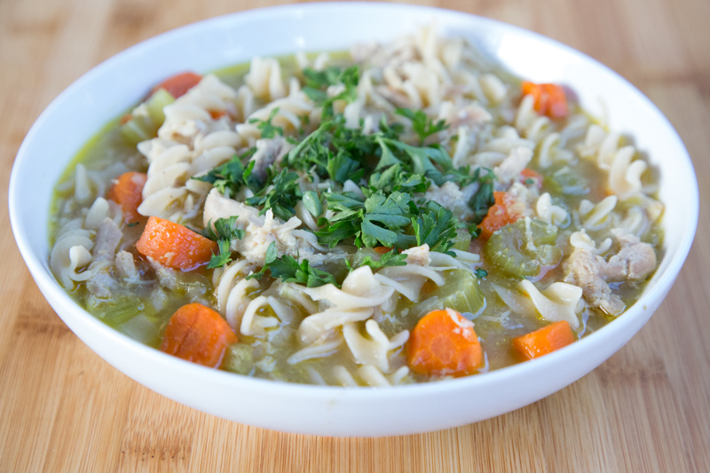 Homemade Chicken Noodle Soup-8