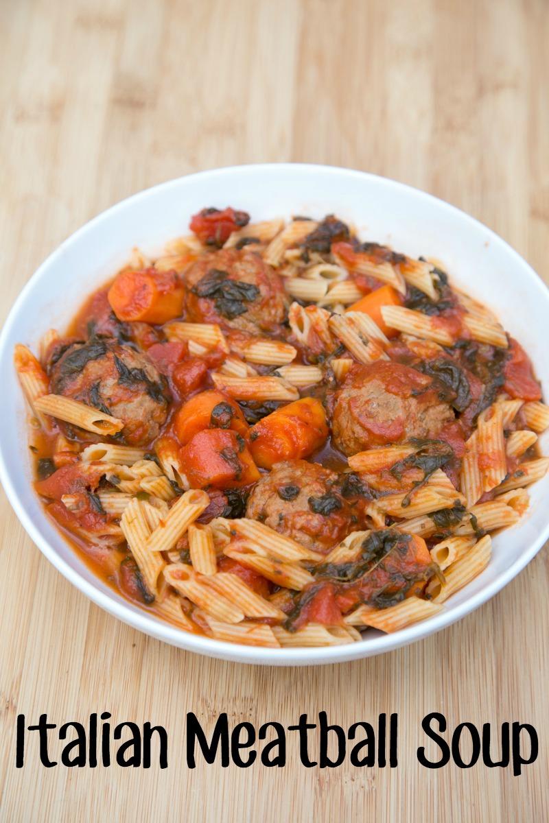 Italian Meatball Soup Recipe on 5DollarDinners.com