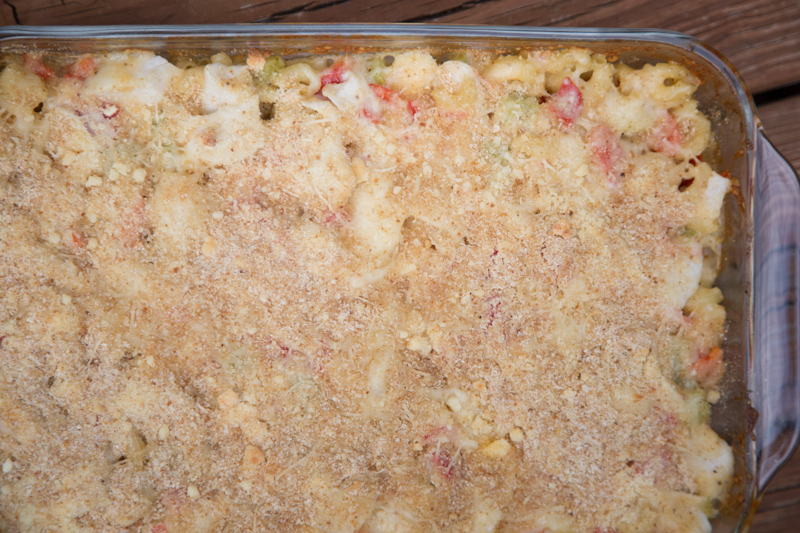 Crab Cake Macaroni & Cheese-13