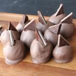Andes Mint Brownie Truffles from 5DollarDinners.com