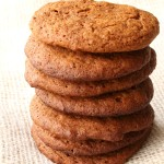 Homemade Ginger Snap Cookies from 5DollarDinners.com