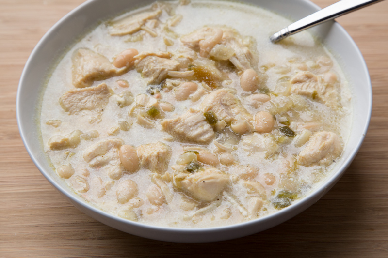 White Chicken Chili on 5DollarDinners.com